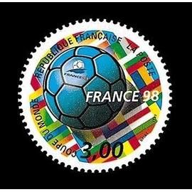 timbre coupe du monde 1998 achat vente de philat lie rakuten. Black Bedroom Furniture Sets. Home Design Ideas