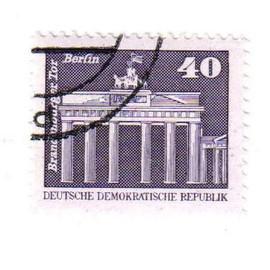 Timbre Oblit�r� : Allemagne - D.D.R.