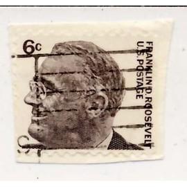 Timbre U S Ca Franklin D Roosevelt 6 Cents