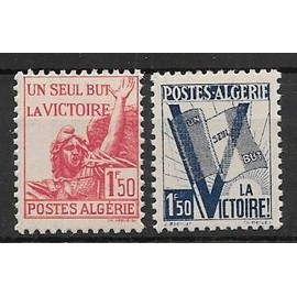 Topical Stamps Timbre Algerie Neuf N° 199 ** Pour La Victoire