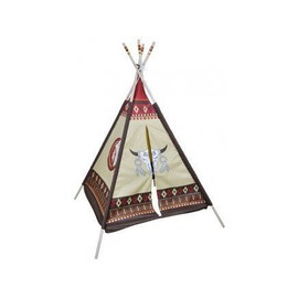 tipi indien enfant 127 x 127 x 170 cm tente de jeu int rieur ext rieur. Black Bedroom Furniture Sets. Home Design Ideas