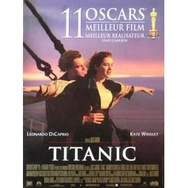 titanic affiche originale de cin ma format 40x60 cm un film de james cameron avec leonardo. Black Bedroom Furniture Sets. Home Design Ideas