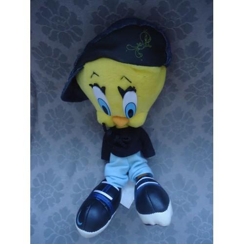 Titi En Peluche Rappeur Avec Ca Casquette 28 Cm Looney Tunes Ace 502743128ef
