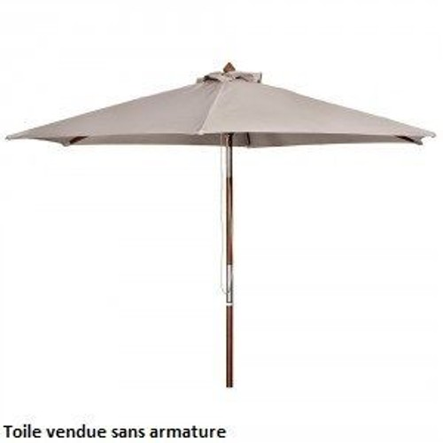 toile de parasol botanic taupe 300x200 achat et vente. Black Bedroom Furniture Sets. Home Design Ideas