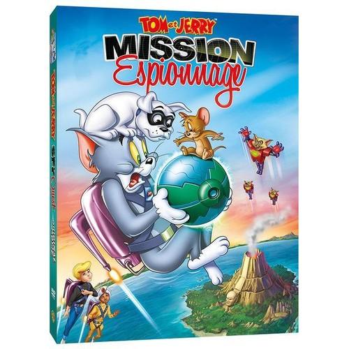Tom et jerry mission espionnage dvd zone 2 - De tom et jerry ...