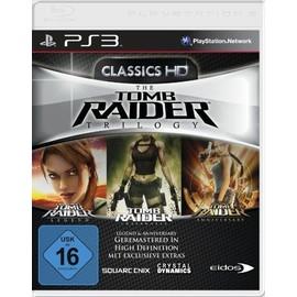 Tomb Raider Trilogy : Legend + Underworld + Anniversary [Import Allemand] [Jeu Ps3]