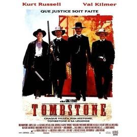 Tombstone - Affiche De Cinema - Format 40x60 Cm