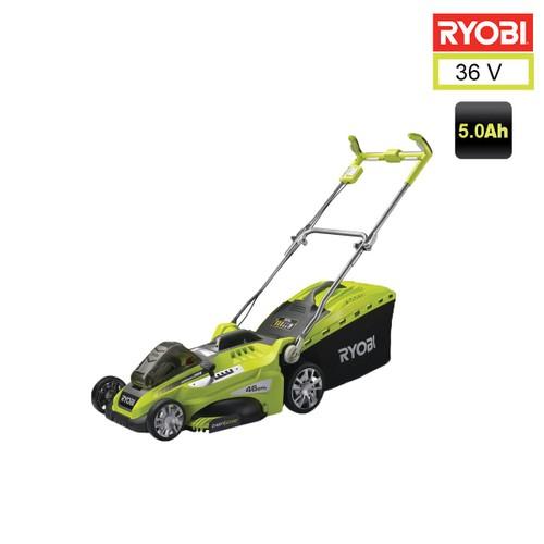 Tondeuse pouss e ryobi 36v lithiumplus coupe 46cm 1 for Tondeuse a batterie ryobi