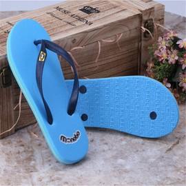7a0180cc7cb Tongs Homme Nouvelle Bleu Chaussures 2017 Nouvelle Marque De Luxe Chaussure  Tongues Qualité Supérieure Chaussures De Plage Hommes