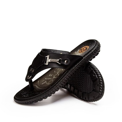 23ab57f53186f6 tongs-hommes-cuir-de-haute-qualite-usure-antiderapante-chaussures-homme -plage-hz-xz283-noir39-1191195557_L.jpg