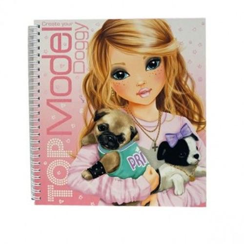 Top model coloriage album canin neuf et d 39 occasion - Jeux de top model gratuits ...