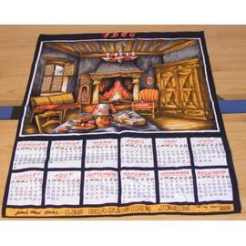 Torchon calendrier ann e 1966 les magasins jean brest - Torchon calendrier ...