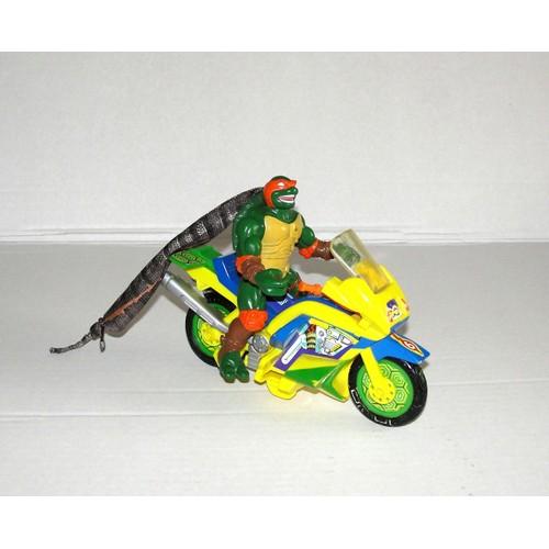 tortue ninja avec moto playmates toys
