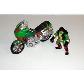 tortue ninja sur sa moto figurine playmates toys mirage favoris alerte prix partage