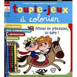 Toupie-Jeux A Colorier N�15