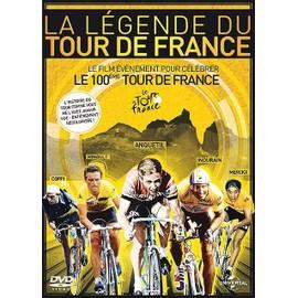 La L�gende Du Tour De France - �dition Anniversaire - 100�me �dition Du Tour De France de Jean-Christophe Ros�