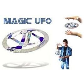 Tour de magie soucoupe volante ufo ovni magique grande illusion coffret magie malette - Tour de magie table volante ...