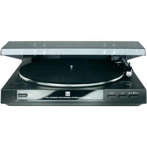 dual dt 210 platine vinyle avec port usb pas cher. Black Bedroom Furniture Sets. Home Design Ideas