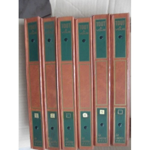 tout a vous la cuisine de a z encyclop die de 6 volumes soit 2306 pages couverture cuir. Black Bedroom Furniture Sets. Home Design Ideas