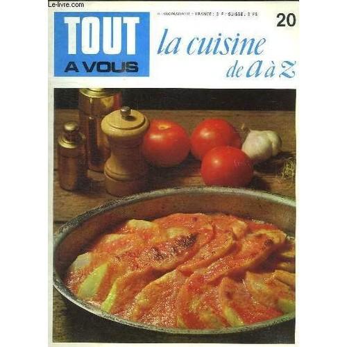Tout a vous la cuisine de a a z n 20 cassolettes de for La cuisine de a a z