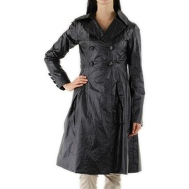trench coat manteau imperm able cir veste parka anti pluie coupe vent v tement de pluie femme. Black Bedroom Furniture Sets. Home Design Ideas