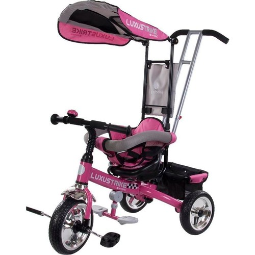 tricycle volutif b b luxus trike rose neuf et d 39 occasion. Black Bedroom Furniture Sets. Home Design Ideas