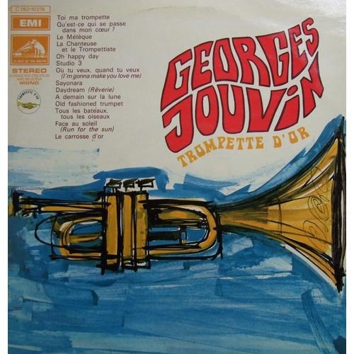 trompette d 39 or de georges jouvin en vinyle 33 tours pas cher ou d 39 occasion. Black Bedroom Furniture Sets. Home Design Ideas