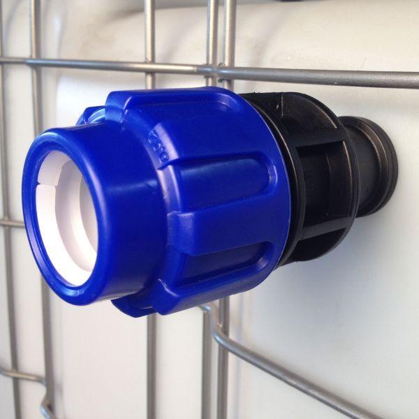 trop plein cuve eau 1000l droit pression diam tre 32 mm. Black Bedroom Furniture Sets. Home Design Ideas