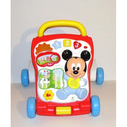 Trotteur Mickey Disney Baby Pousseur Porteur