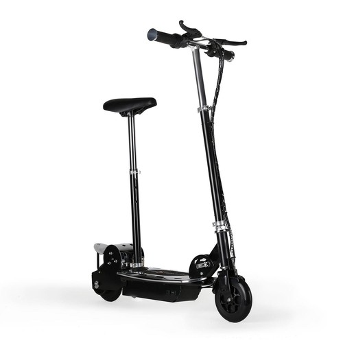 trottinette electrique avec moteur de 120w pour une vitesse jusq 39 16km h 2 freins batterie. Black Bedroom Furniture Sets. Home Design Ideas