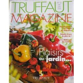 truffaut magazine - mai/juin 2002 - N° 12 : plaisirs au jardin/les  jardinières/détente et jeux de plein air/les cichlidés/le lapin nain/les ...