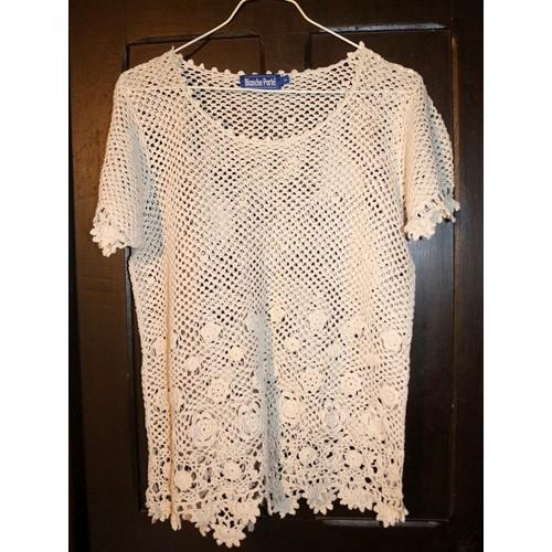 Tunique blanche porte coton 50 ecru achat et vente - Code promo blanche porte 50 et port gratuit ...