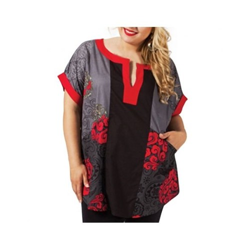 tunique -grandes-tailles-en-coton-a-manches-courtes-2-poches-col-tunisien-aller-simplement-plus-size-tup155-1090367099 L.jpg 2dcb8a5926e