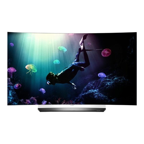 smart tv oled lg oled55c6v 55 4k uhd cran incurv 3d hdr. Black Bedroom Furniture Sets. Home Design Ideas