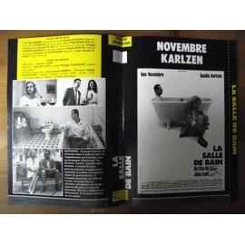 Tv video jaquette du film la salle de bain 1989 r alisation john m lvoff avec tom novembre - Film salle de bain ...