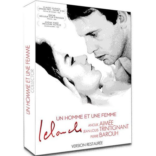 un homme et une femme de claude lelouch en dvd neuf et d 39 occasion sur priceminister. Black Bedroom Furniture Sets. Home Design Ideas
