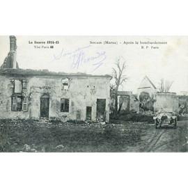 Une Carte De Souian �crite En 1916.
