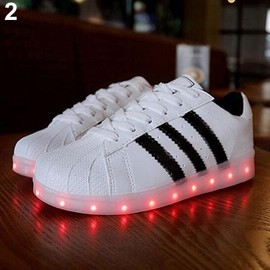 baskets adidas a led