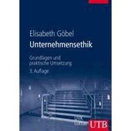 Unternehmensethik de Elisabeth G�bel