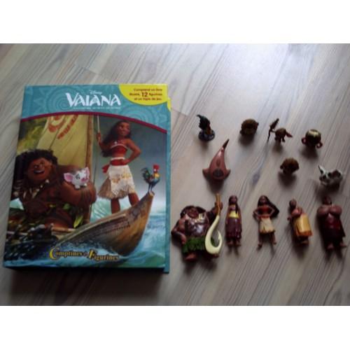 Vaiana la legende du bout du monde 12 figurines de disney format broch - Frais de port gratuit disney store ...