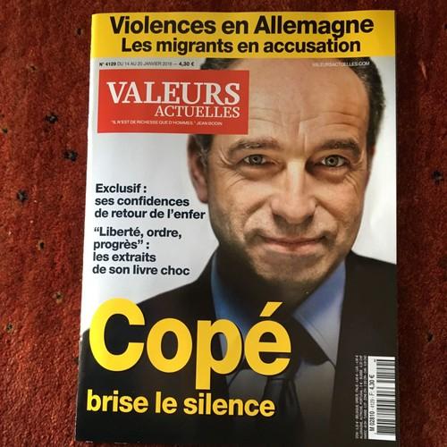 Valeurs Actuelles N4129 Cope Brise Le Silence 1058184564 L