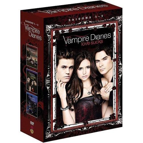 vampire diaries saisons 1 3 dvd zone 2 rakuten. Black Bedroom Furniture Sets. Home Design Ideas