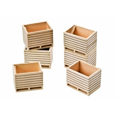 van manen 610611 kids globe by toys world pack de 6 caisses pommes de terre en bois. Black Bedroom Furniture Sets. Home Design Ideas