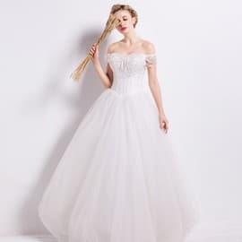 6034dc3160e Vente Chaude Sweet Lacent Bretelles Cristal Manches Princesse Robe De  Mariage De Cru