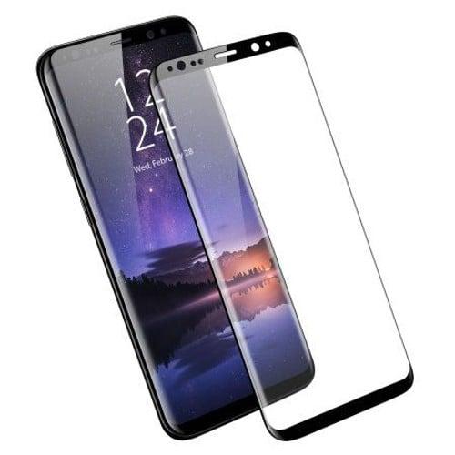 Verre Trempé Samsung Galaxy S8 Plus Noir Vitre Protection Ecran Intégrale 3d  - Film Total cf155253b5e9