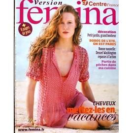 Version Femina Du 26 Juillet 2009 N� 382 : Cheveux Mettez Les En Vacances