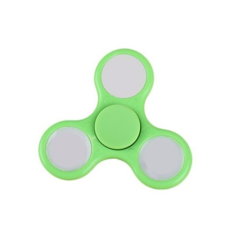 Widget Jouet Plastique Enfants Tri En Fidget Edc Hand Led Focus Cadeau Spinner Light Adultes Pour Desktoy Poche Triangle uTlKF53c1J