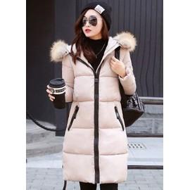 Style À Fourrure Capuche De Femme Étudiante Veste Coréen Doudoune SqwaOnTT