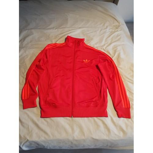 1e56b57de4585 Veste Adidas Original Rouge - Achat vente de Vêtements - Rakuten