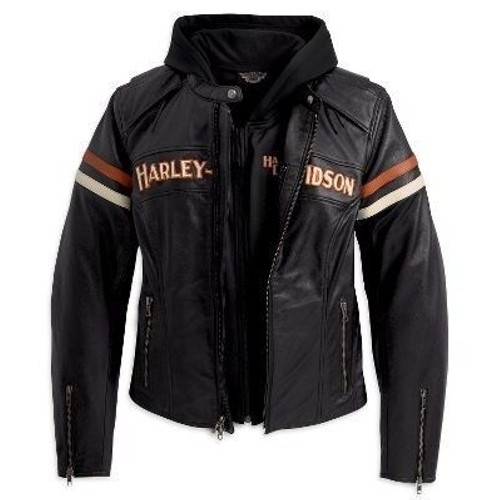 veste blouson cuir femme harley davidson s achat et vente rakuten. Black Bedroom Furniture Sets. Home Design Ideas
